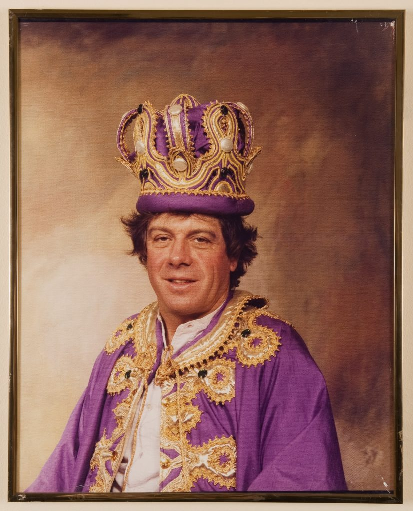 Portrait – Moomba king – Ian Molly Meldrum