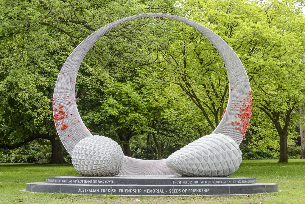 Australian Turkish Friendship Memorial (Seeds of Friendship)