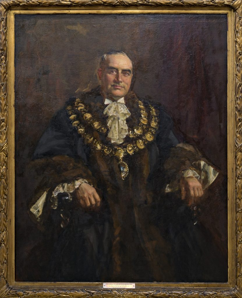 Portrait of Sir Stephen Morell (Lord Mayor 1926-28)