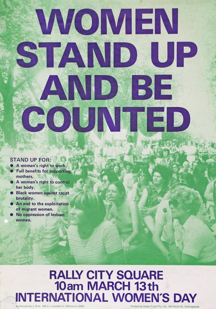 Women stand up and be counted