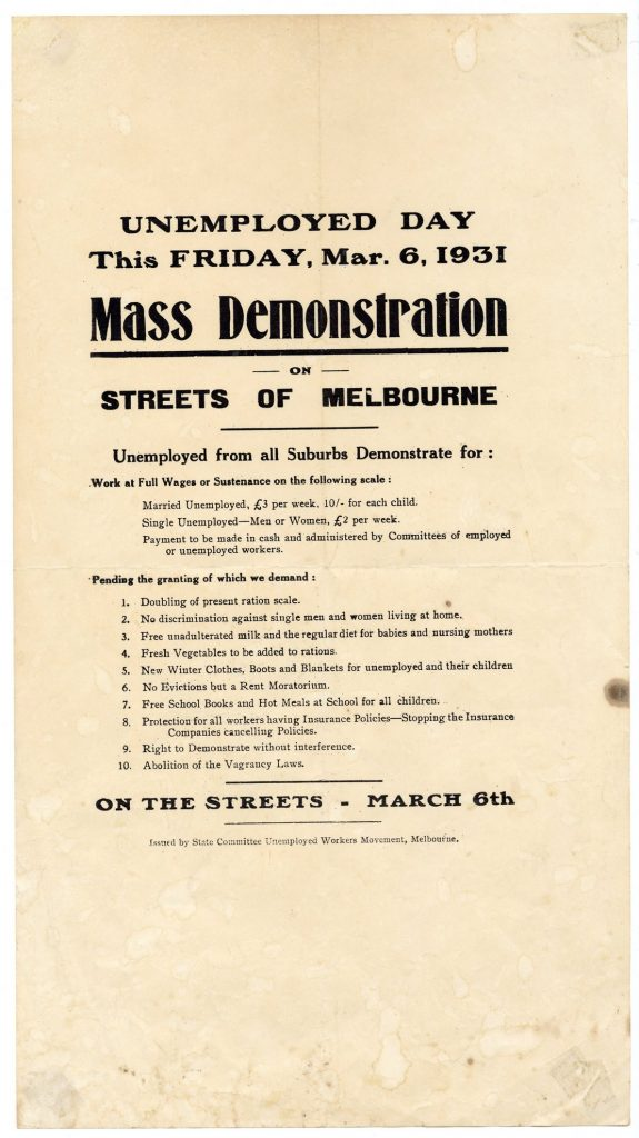 Unemployed Day Mass Demonstration