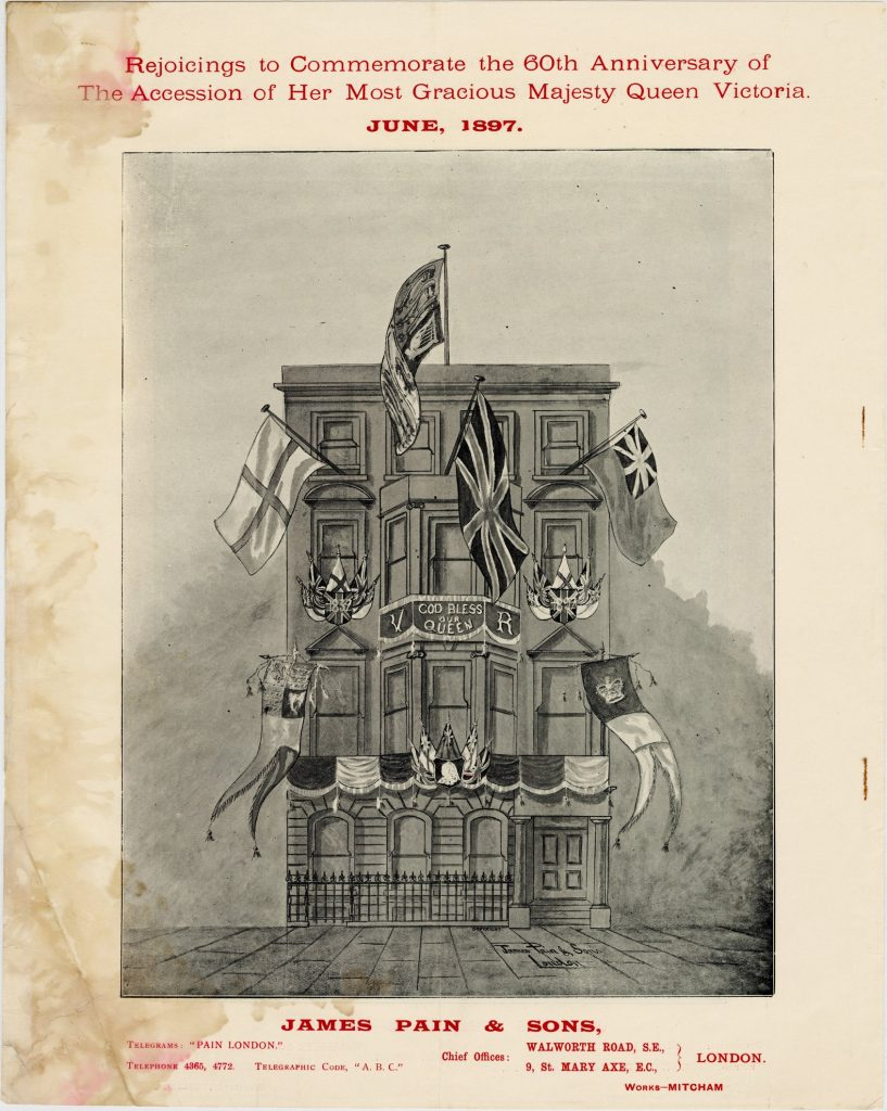 Catalogue and firework program for festivities for Queen Victoria's 60th anniversary of accession image 1735437-6