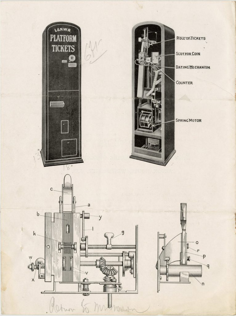 Instruction booklet for the BEAM ticket issuing machine image 1735443-3