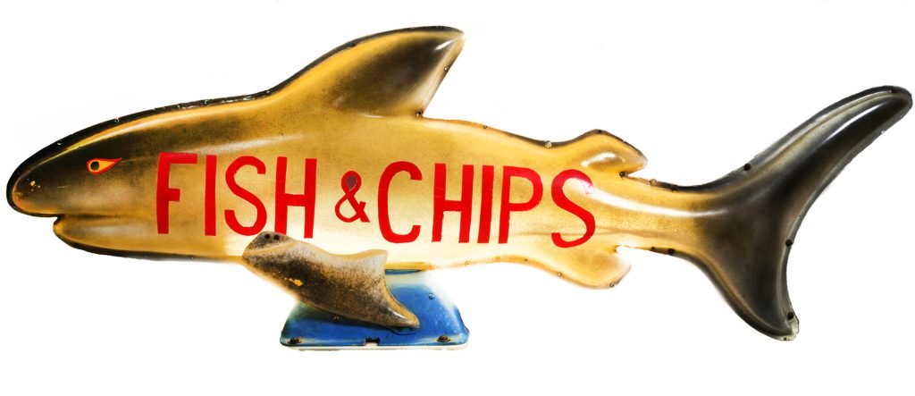 Sign, Fish & Chips