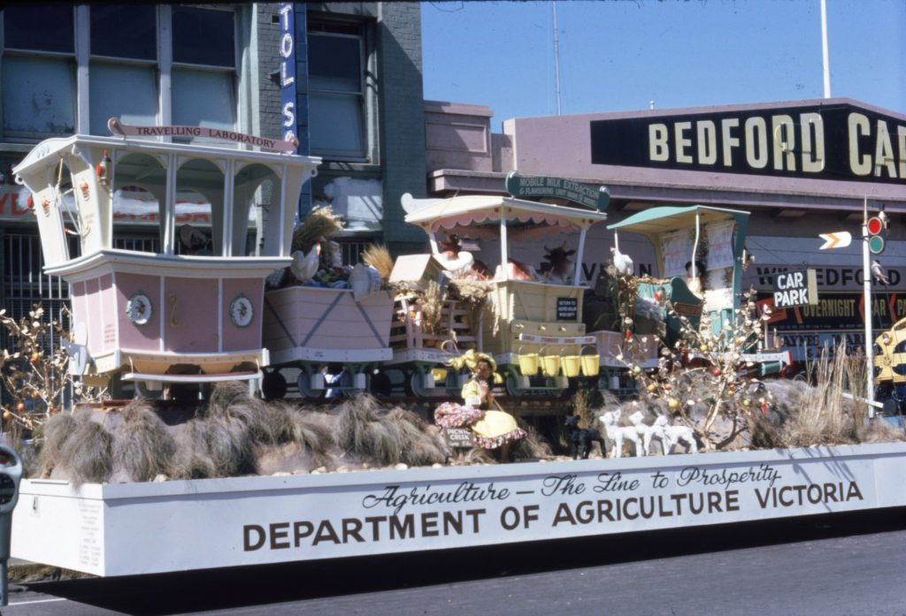 Department of Agriculture float A, 1963