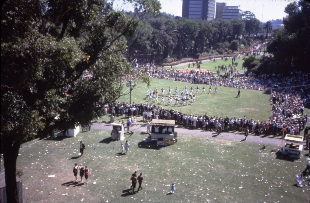 Moomba Marching Girls Spectacular, 1967