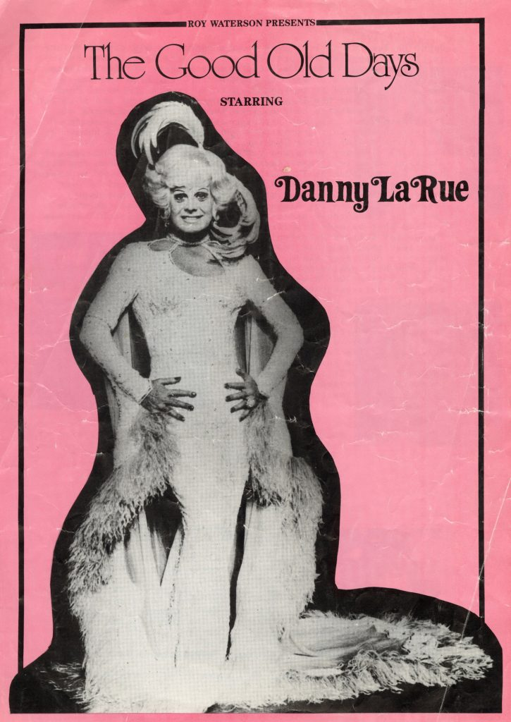 Programme, The Good Old Days starring Danny La Rue