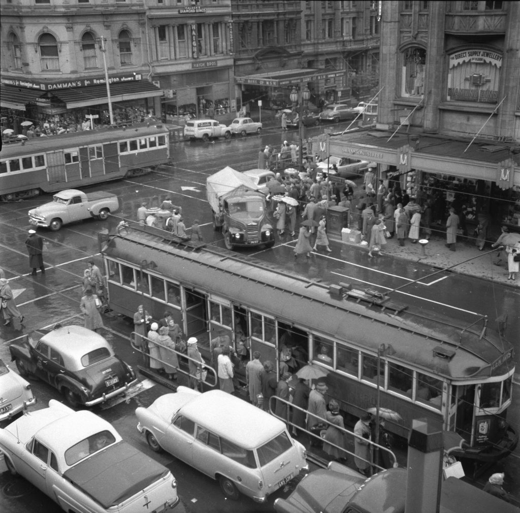 Unmarked Book Negative A26 – Intersection of Swanston and Collins Street