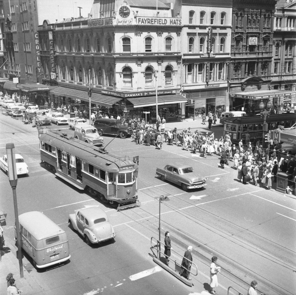 Unmarked Book Negative A33 – Intersection of Swanston and Collins Street