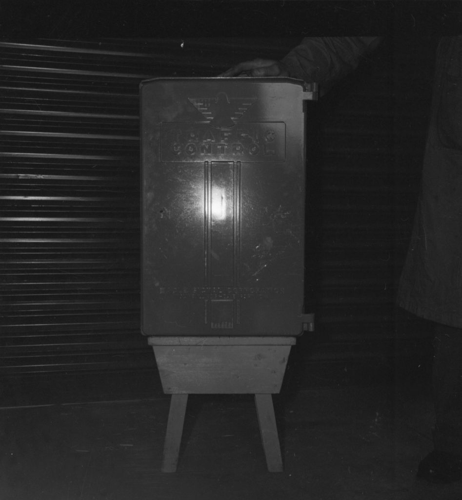 Unmarked Book Negative A93 – Traffic control box