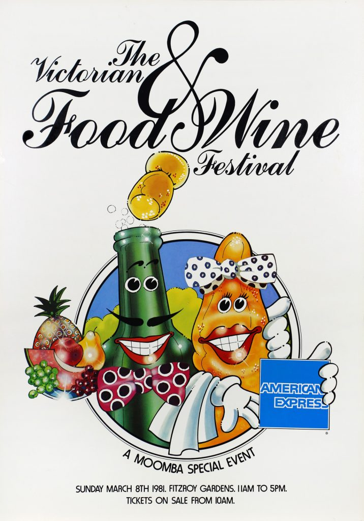 Poster, Victorian Food and Wine Festival