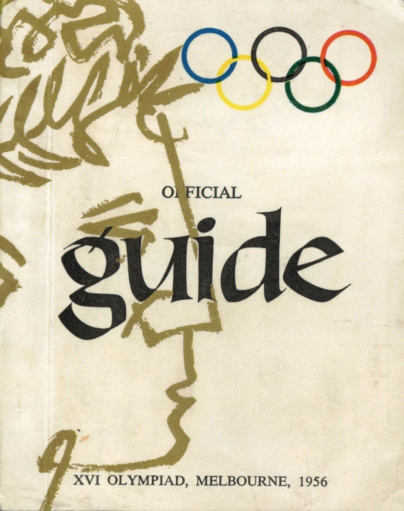 Official Guide: XVI Olympiad, Melbourne 1956