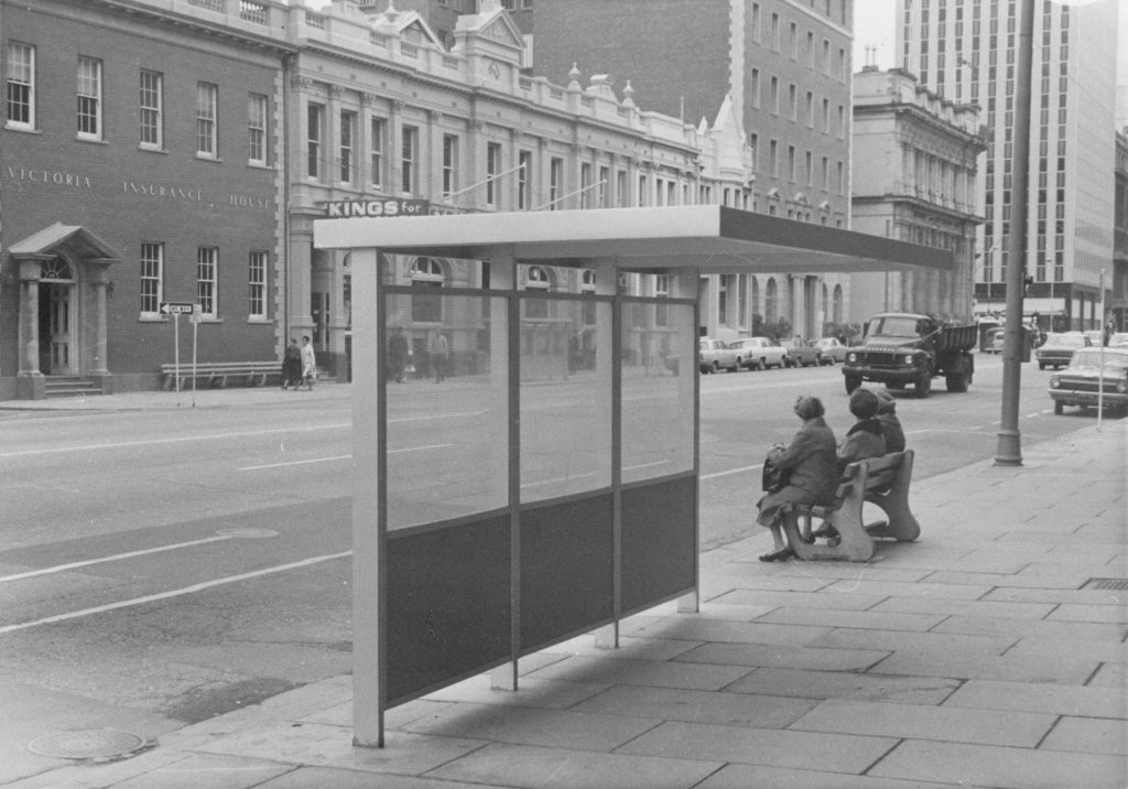 Bus shelter, Adelaide