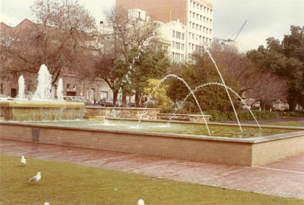 Bonython Fountain, Adelaide