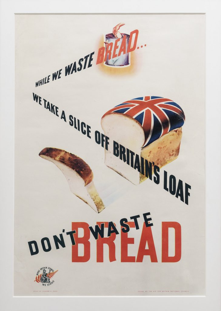 Poster, Don't waste bread