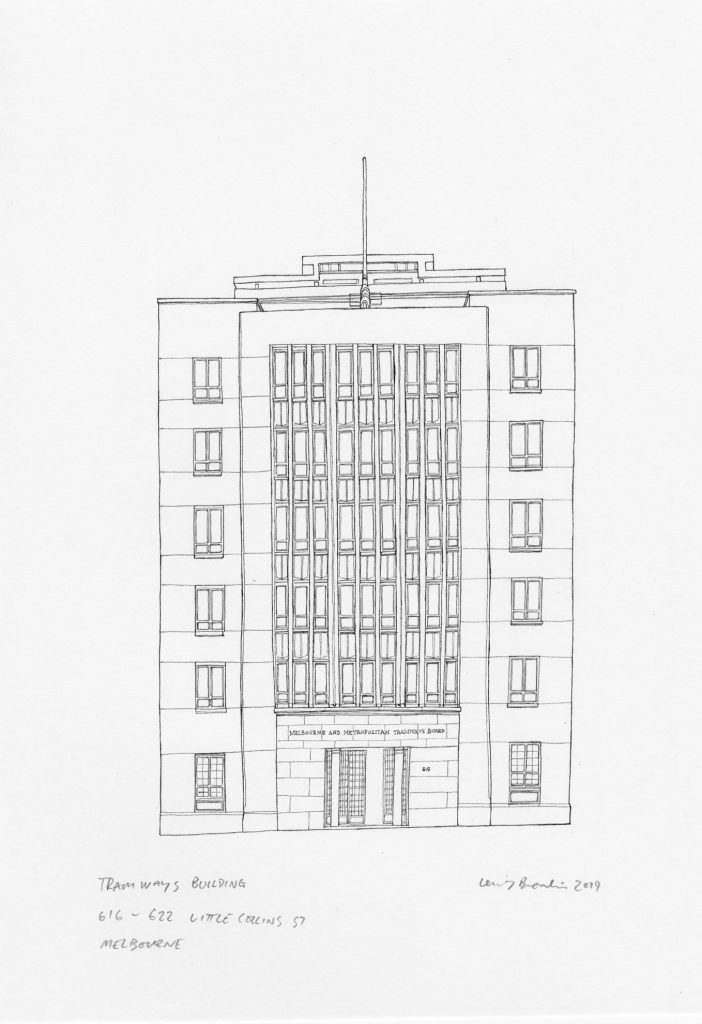 Tramways Building, 616 – 622 Little Collins Street, Melbourne