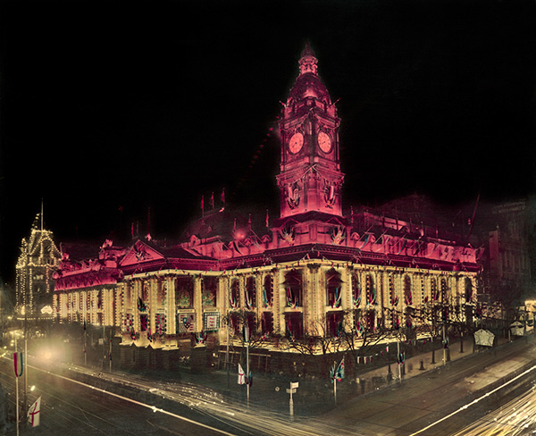Melbourne Town Hall, 1954